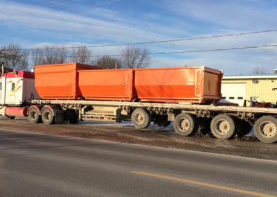 Camion de 53 pied - Zone Conteneurs Inc. à Mirabel - Zone Conteneurs Inc. - Montréal