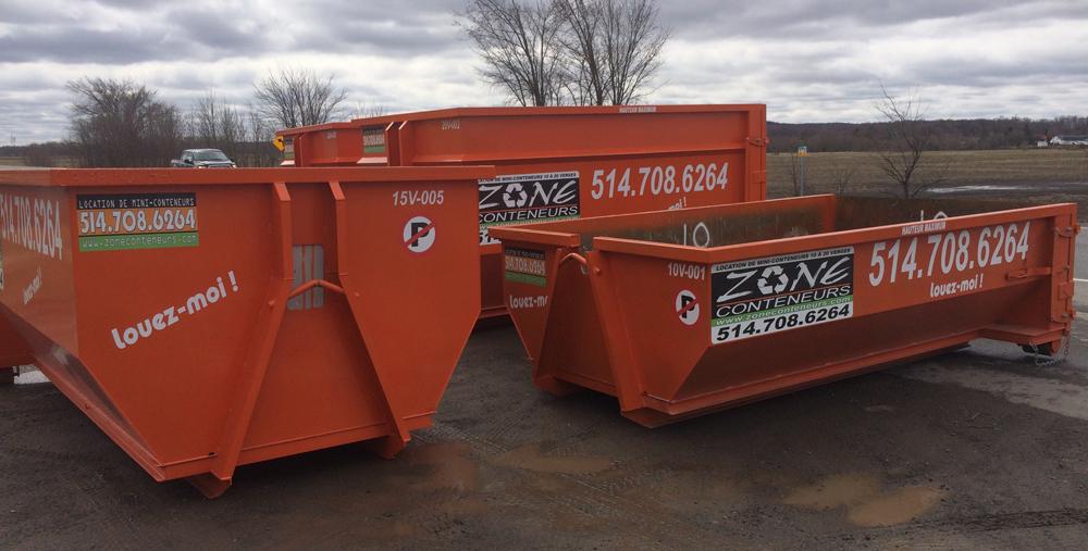 Dimensions et fiche technique de Zone Conteneurs Inc. à Mirabel - Zone Conteneurs Inc. - Montréal
