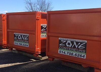 Location de mini-conteneurs pour entreprise - Zone Conteneur à Mirabel