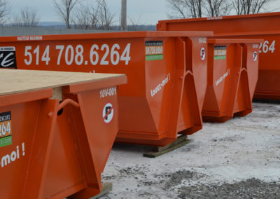 Type de conteneur de Zone Conteneur Inc à Mirabel - Zone Conteneur Inc. Montréal