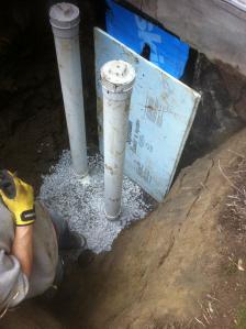 L'inspection préachat – Ocre ferreux ( Un drain français, c'est quoi ? ) - Zone Conteneurs Inc. - Mirabel, Montreal