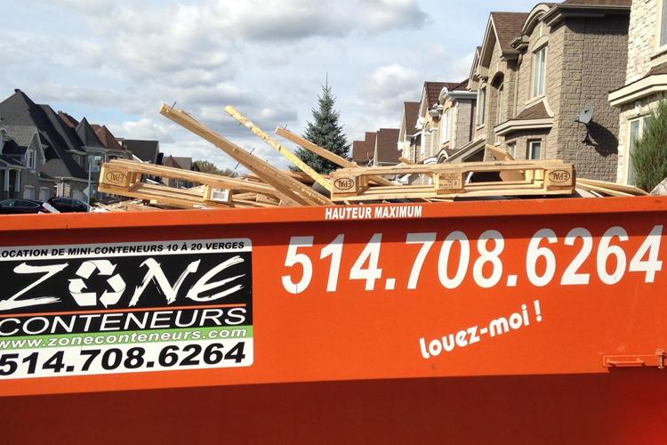 Règlementation ville et durée de location - Zone Conteneurs Inc. - Mirabel, Montréal