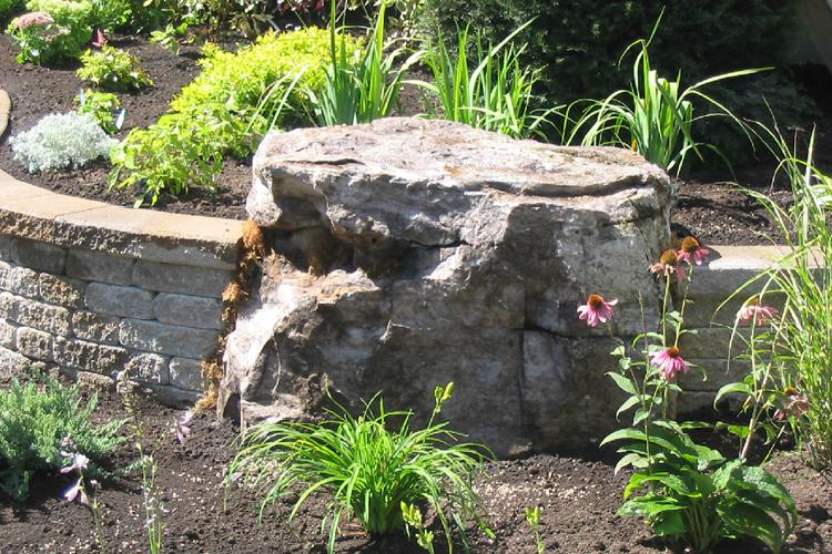 Zone de plantations et pierre naturelle - Zone Conteneurs Inc. - Mirabel, Montréal